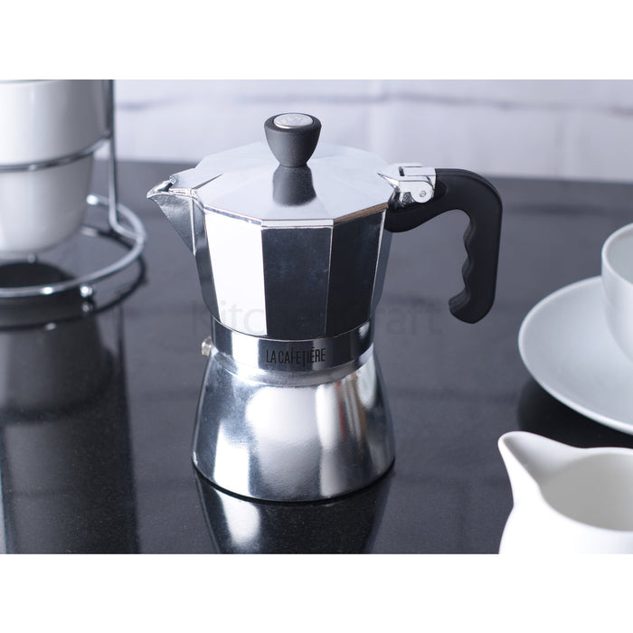 3 Cup Polished Espresso Pot