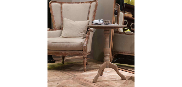 Edwards Oak Side Table