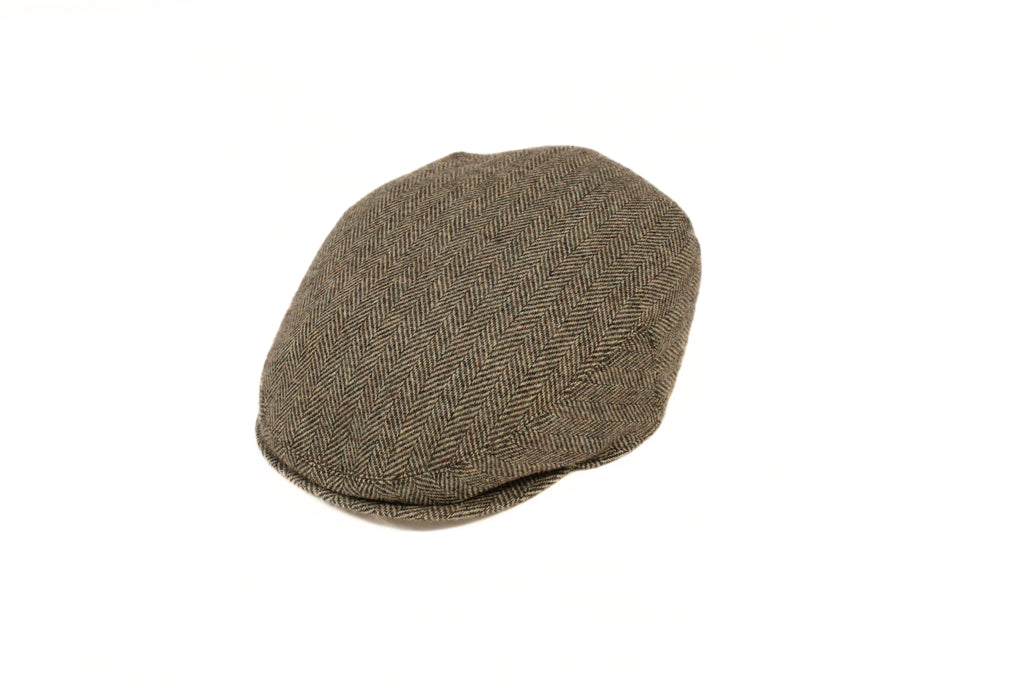 Childrens Plain Flat Cap Hat Mens Traditional Tweed Flat Hat Book Week Accessory
