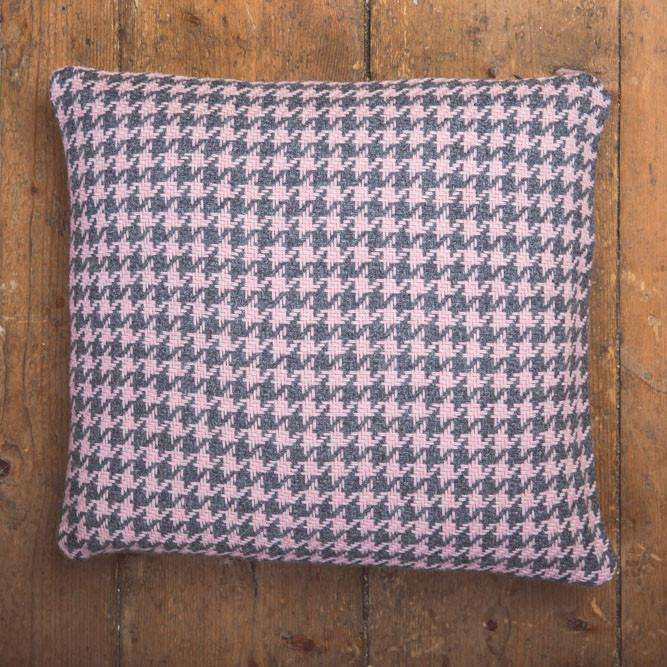 Oxford & Petal Houndstooth Cushion