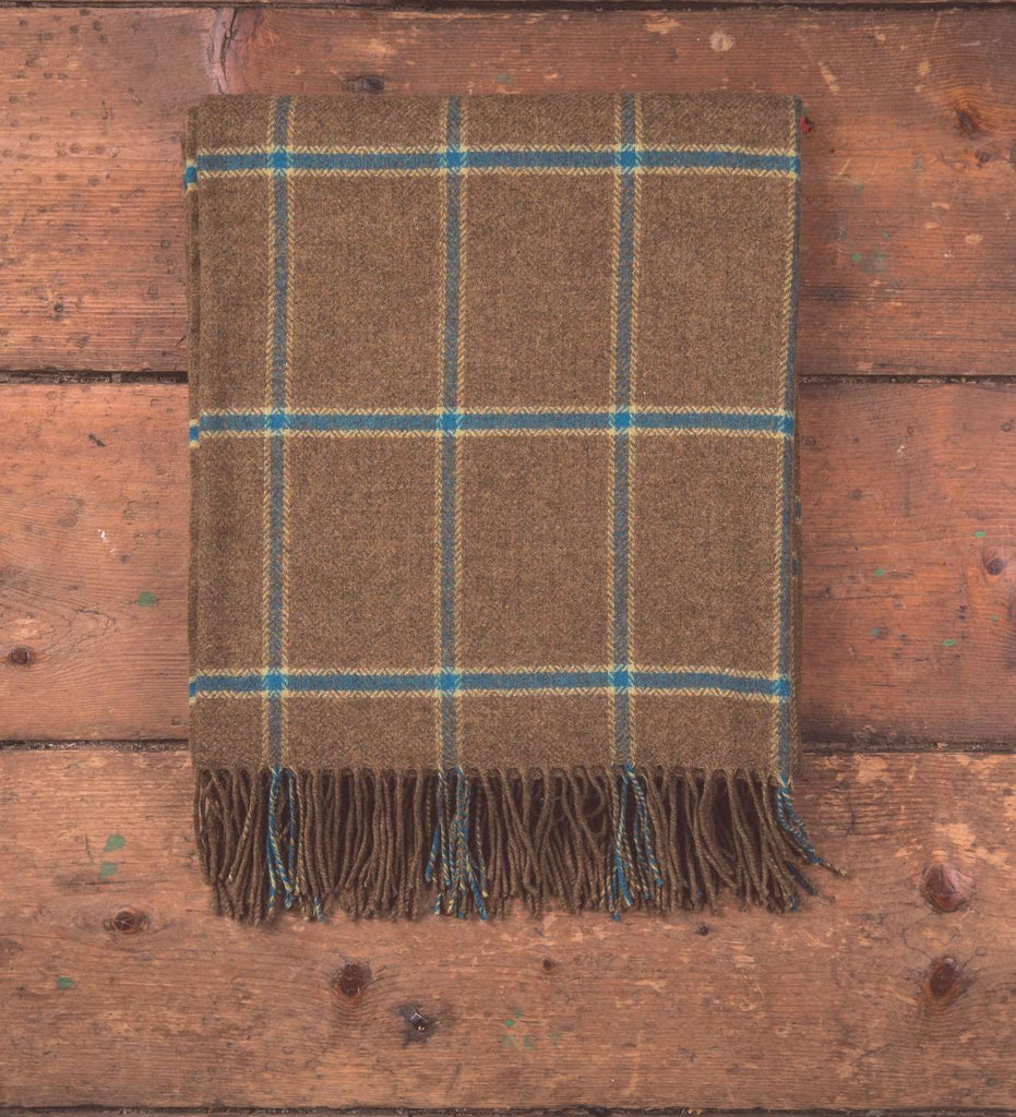 Grouse Windowpane Throw