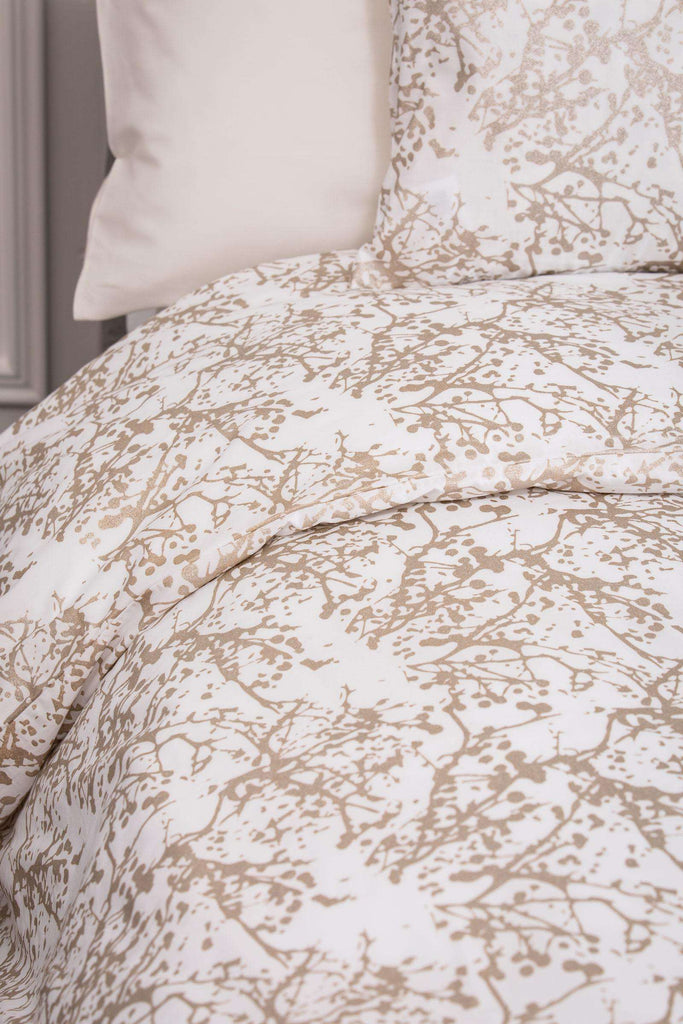 Metallic Cobweb Oxford Pillowcase 50 x 75cm - Pair