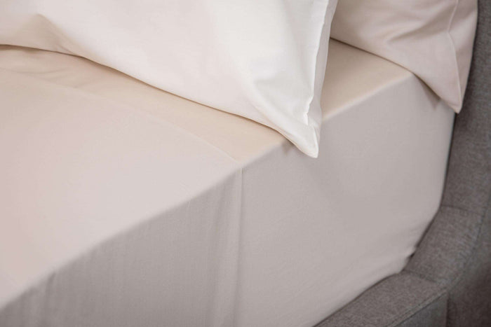 Champagne Sateen Fitted Sheet