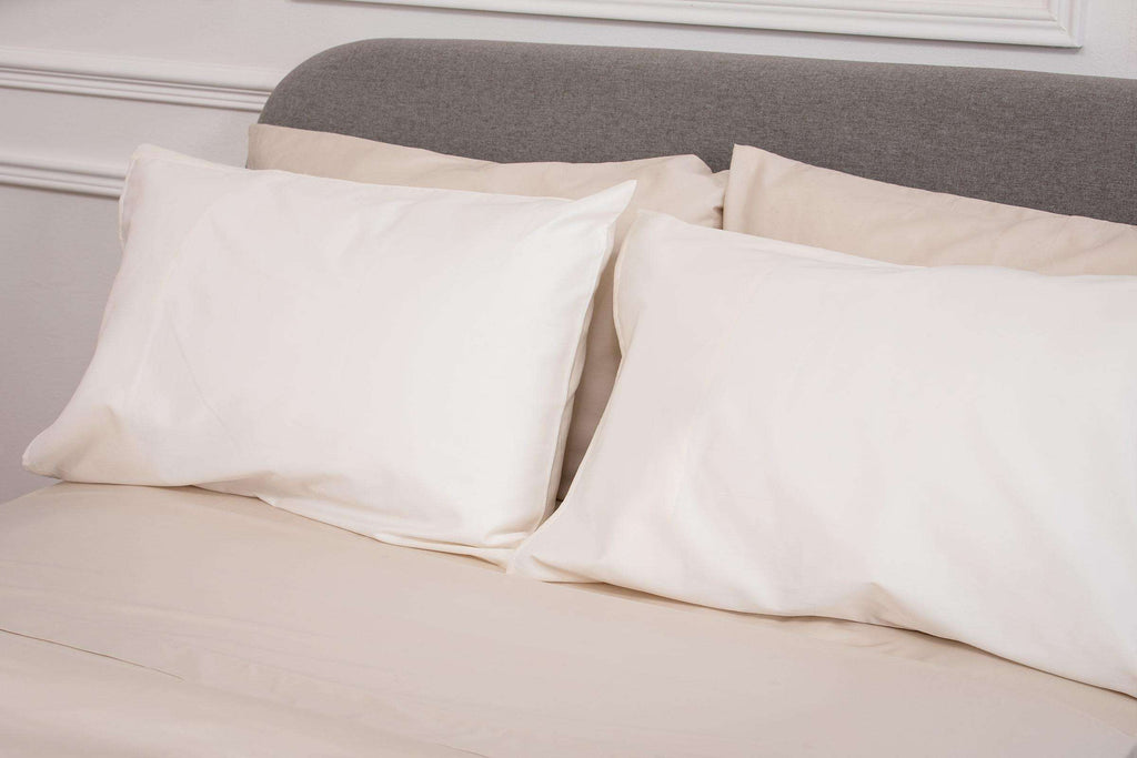 Cream Sateen Housewife Pillowcase - Single