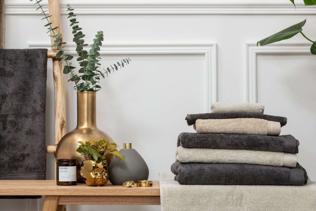 Taupe Towels
