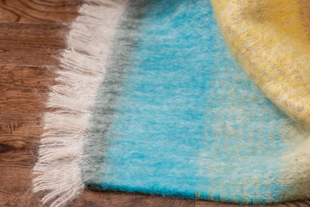 Jewel Ombreid Stripe Mohair