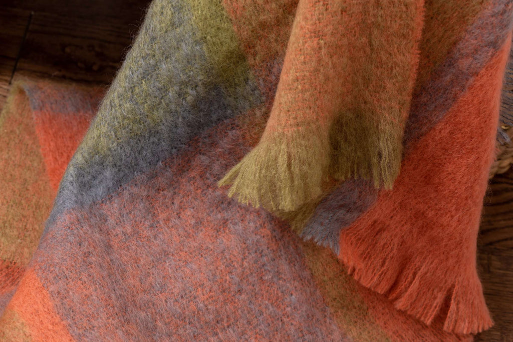 Woodlands Giant Check Mohair