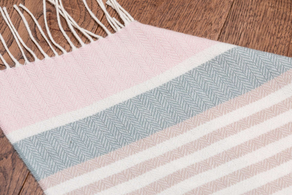 New Neutrals Candy Stripe Lambswool