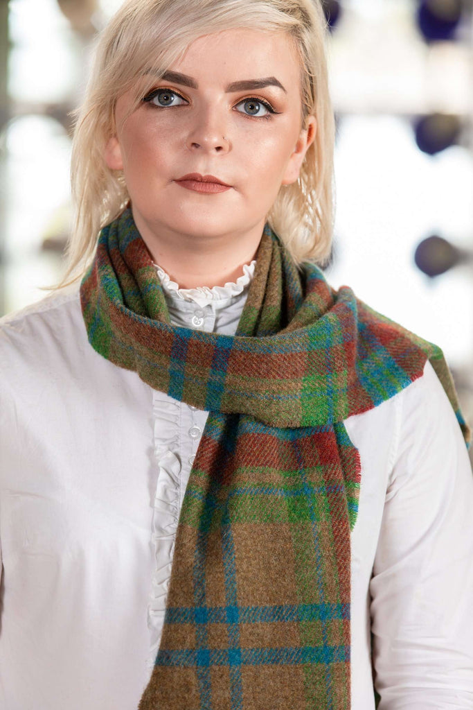 Traditional Large Check Scarf