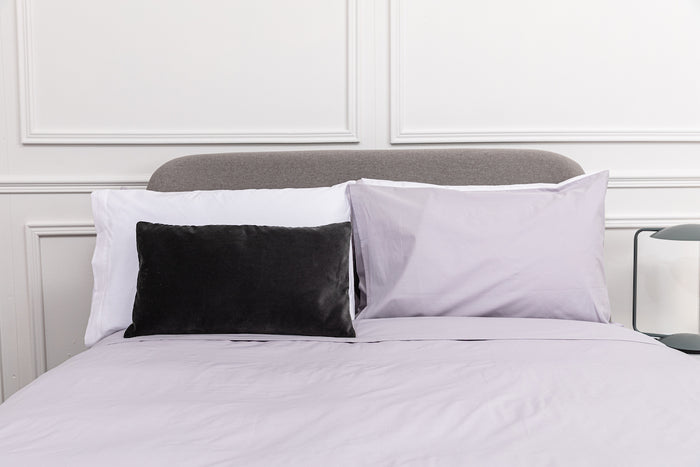 Misty Grey Plain Dye Duvet Cover