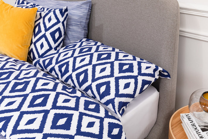 Ikat Print Pillowcase - Pair