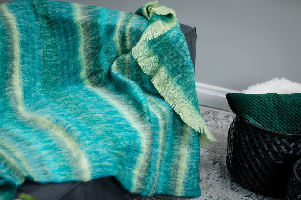 Sea Green Mohair