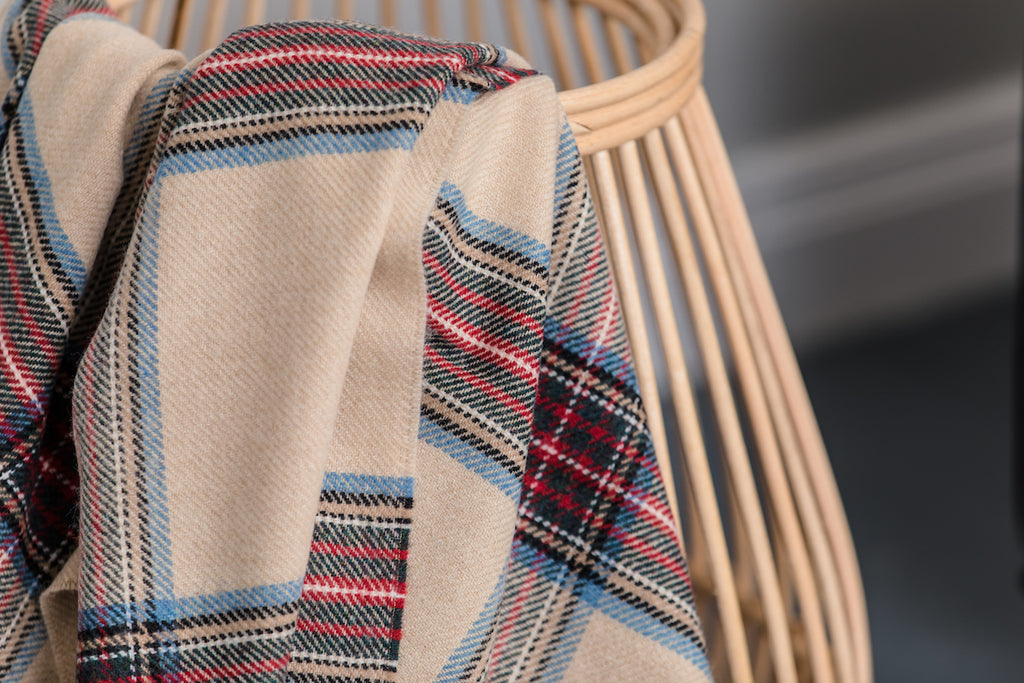 Heritage Tartan Throw