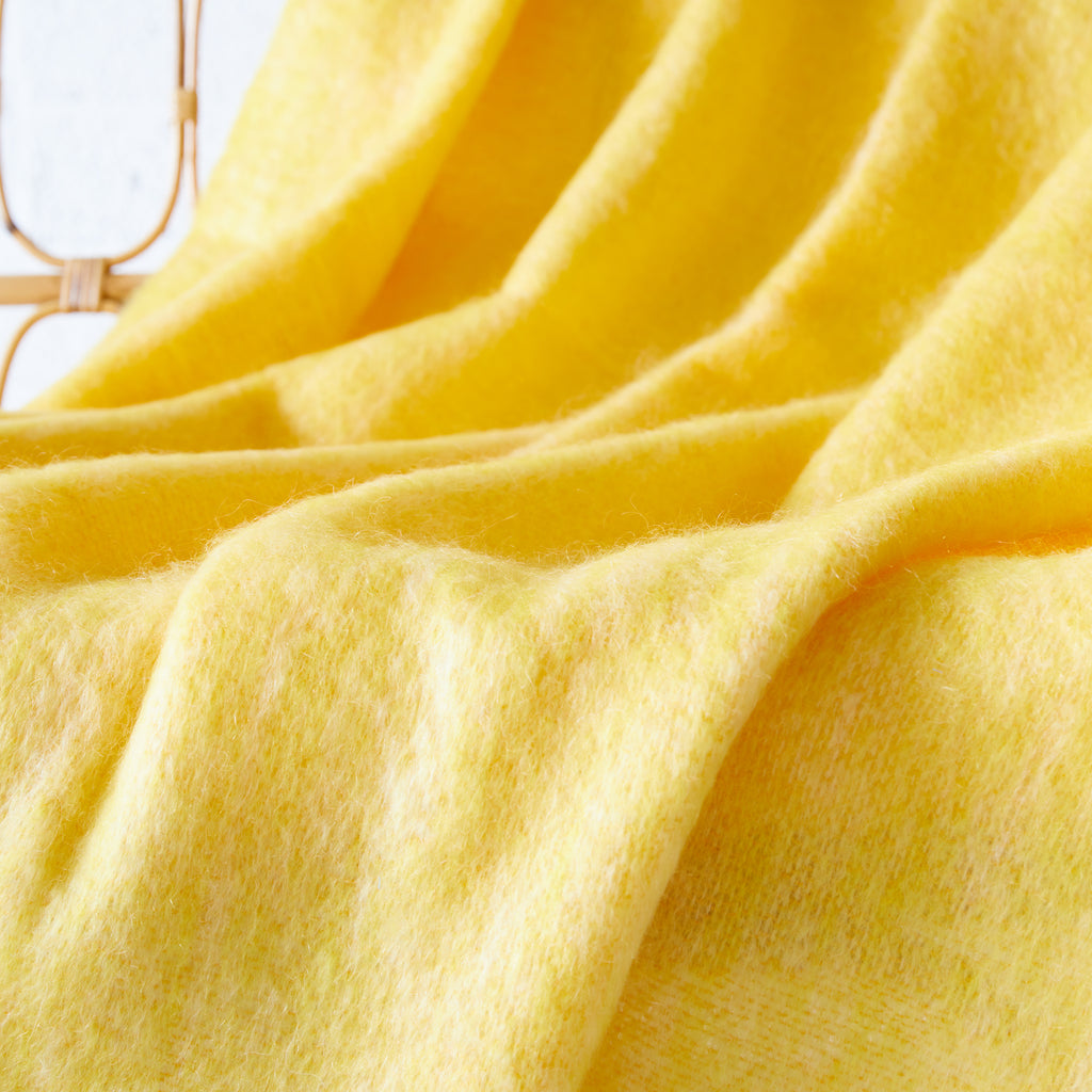 Sunlight Mohair Throw