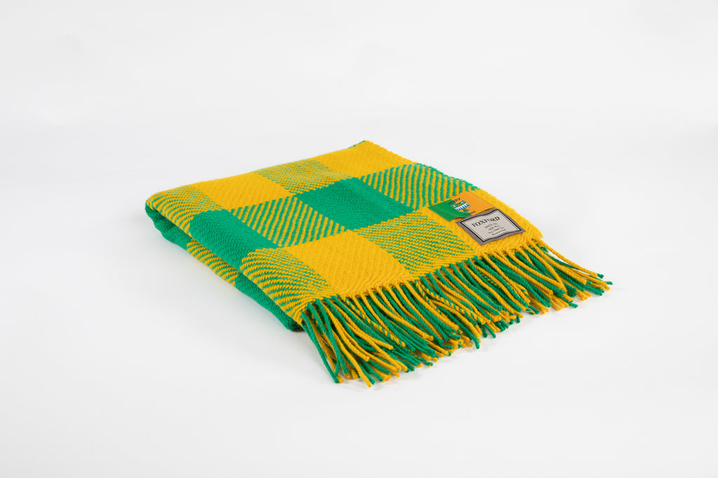 County Colour Throws - Kerry