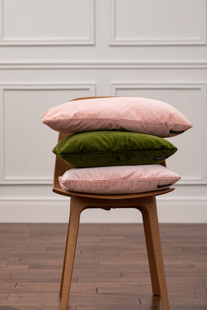 Velvet Candy Pink Cushion