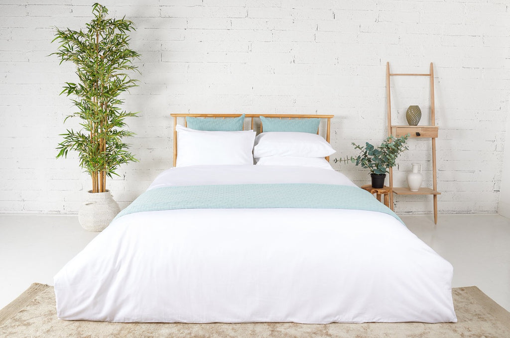 300TC White Sateen Duvet