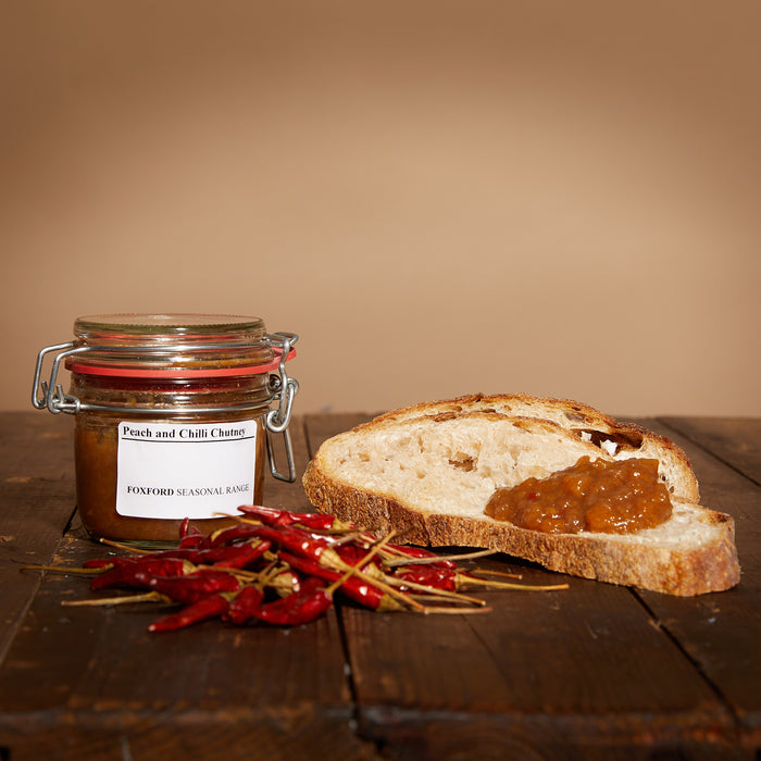 Foxford Peach & Chilli Chutney - Seasonal Range