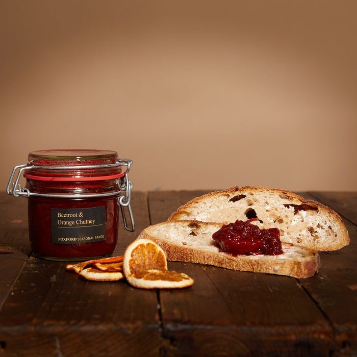 Foxford Beetroot & Orange Chutney