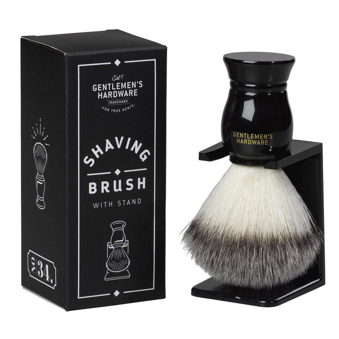 Gentlemen's Hardware Shaving Brush with Stand