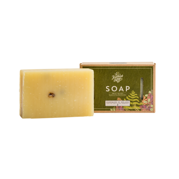 Sweet Orange, Basil and Frankincense - Soap Bar