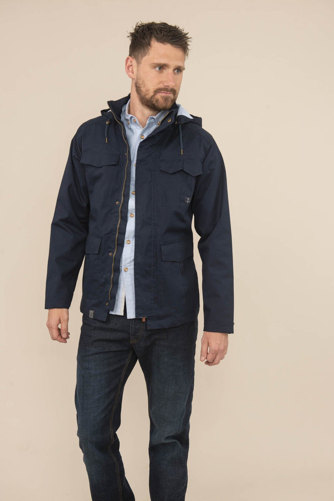 Lighthouse Grayson Jacket - Midnight