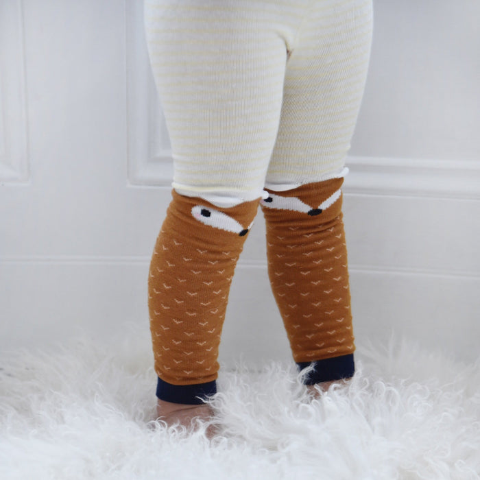 Knitted Fox Leggins