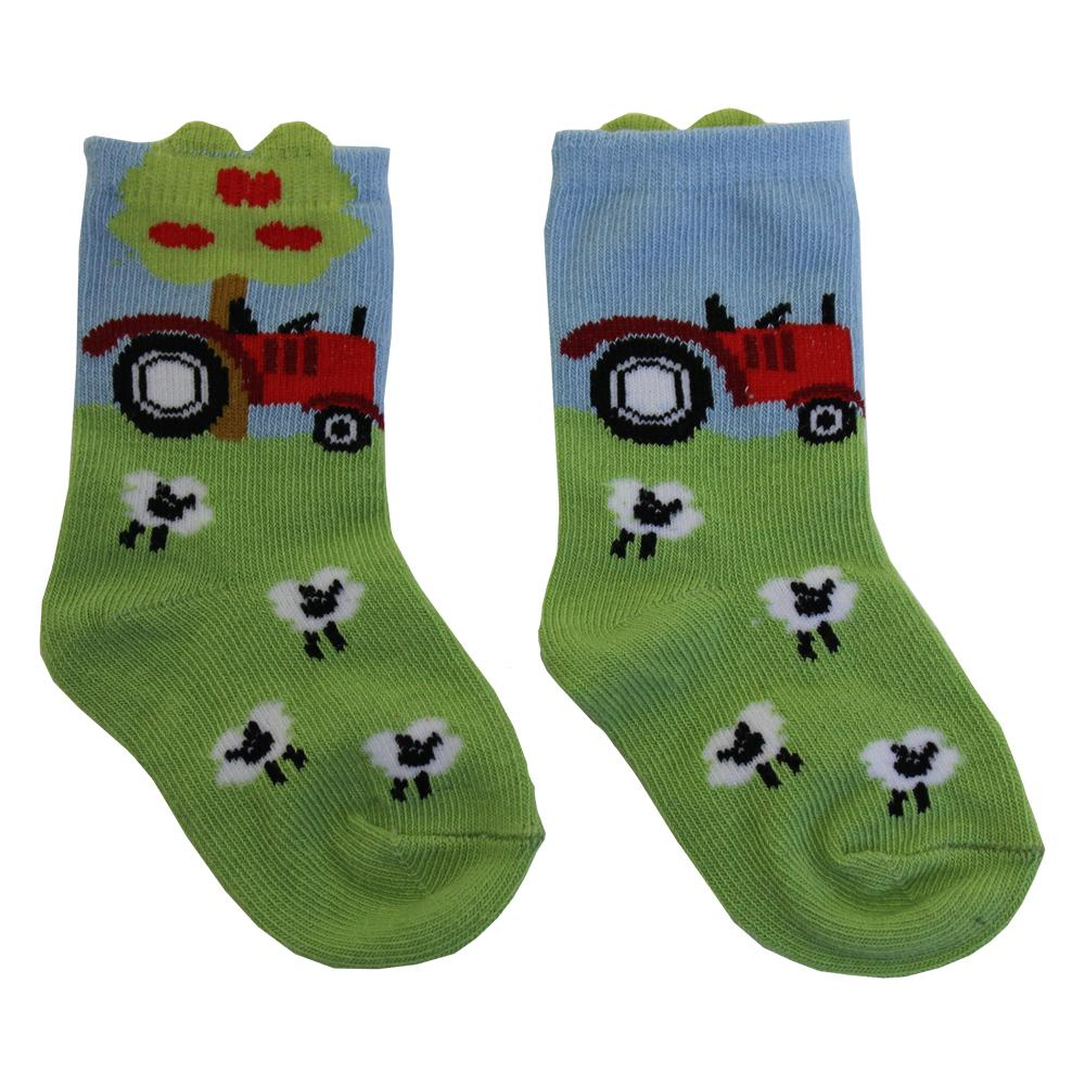 Tractor Socks - Pack of 2
