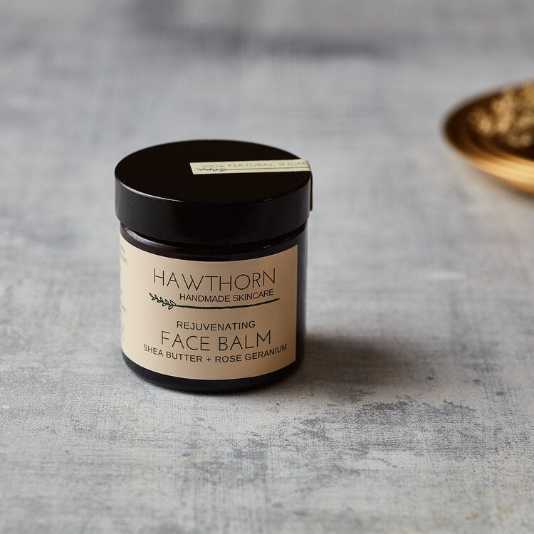 Rejuvenating Face Balm Shea Butter and Rose Geranium