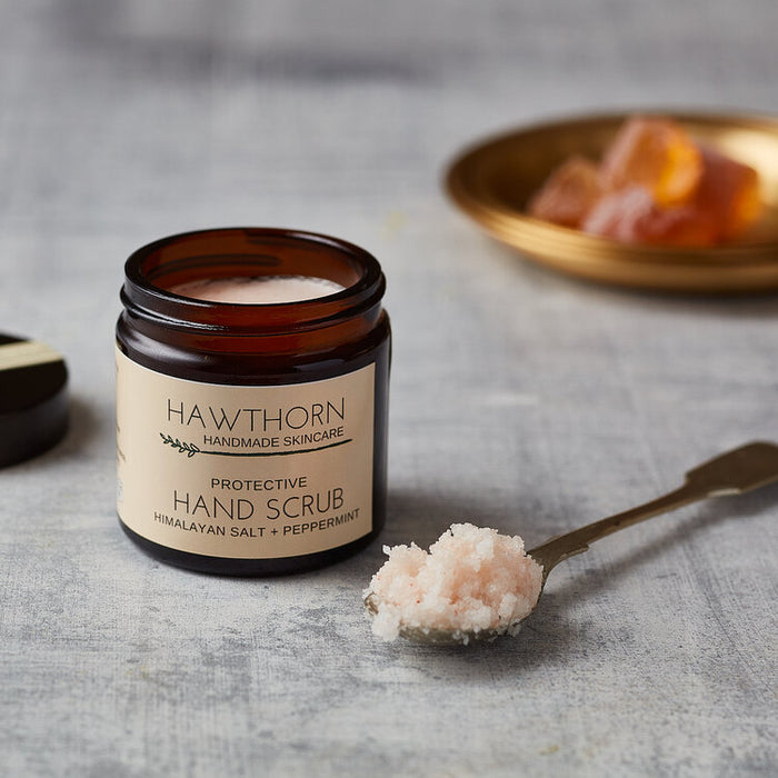 Protective Hand Scrub with Himalayan Salt + Peppermint