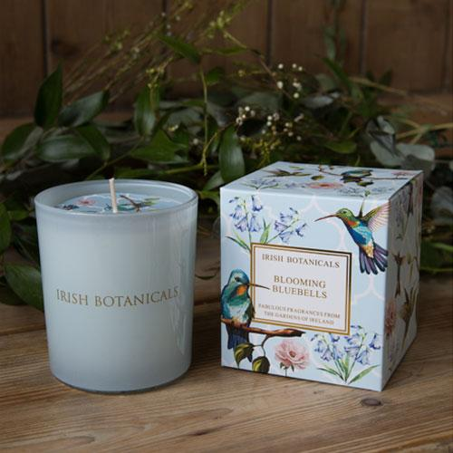 Irish Botanicals - Blooming Bluebells Candle