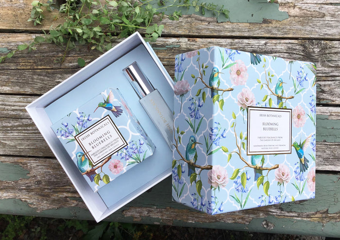 Blooming Bluebells Candle and Perfume Gift Set