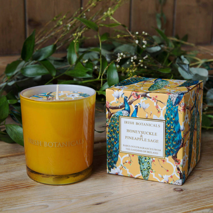 Honeysuckle & Pineapple Sage Candle