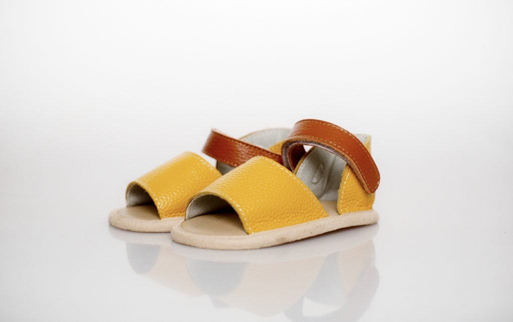 Goose & Gander Tropica Leather Sandals - Mustard