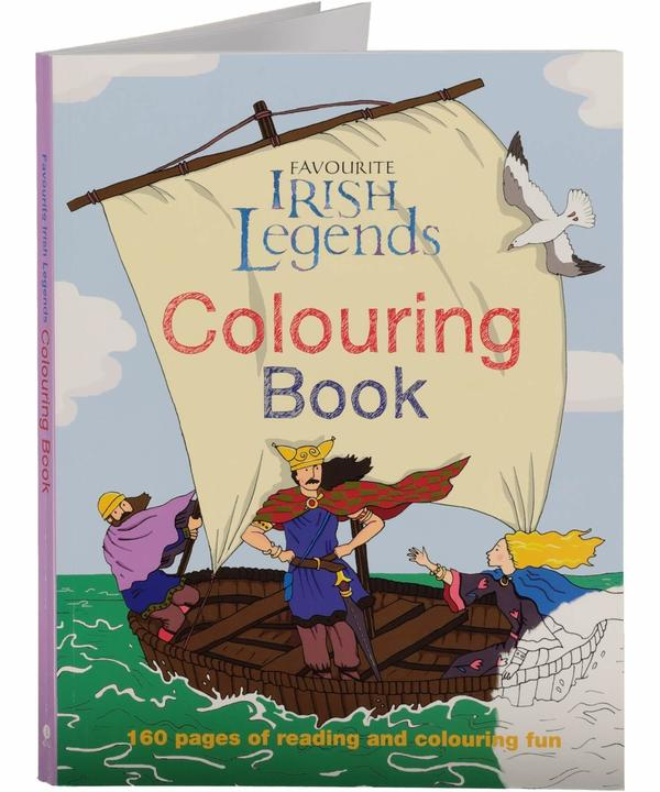 Irish Legends Colouring Book