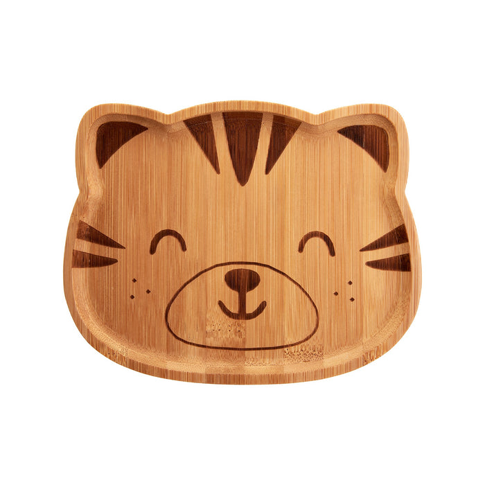 Tiger Bamboo Plate