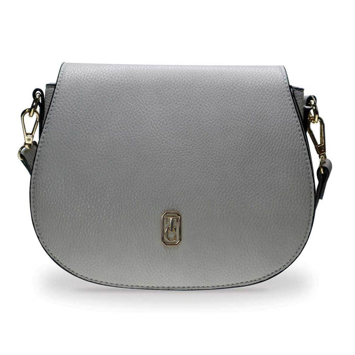 Tipperary Crystal- Kensington Grey Saddle Bag