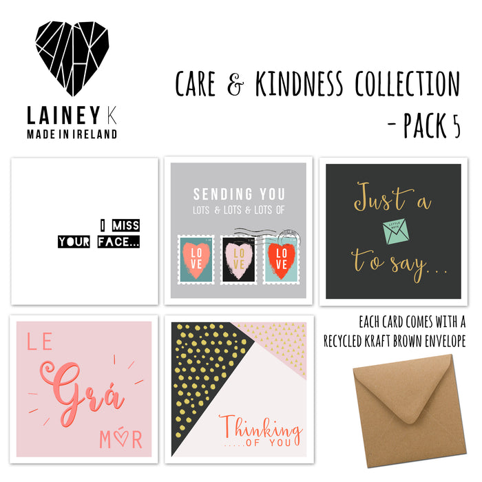Care and Kindness Collection - Greeting Card Pack