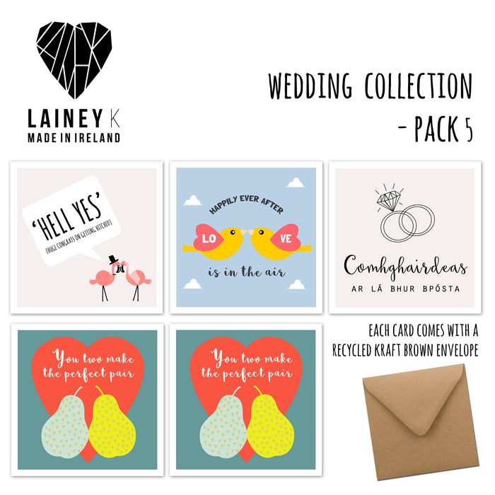 Wedding Collection - Greeting Card Pack