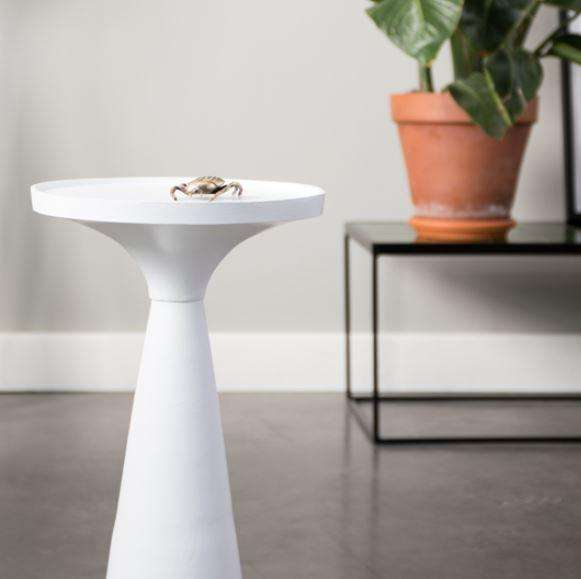Floss White Side Table