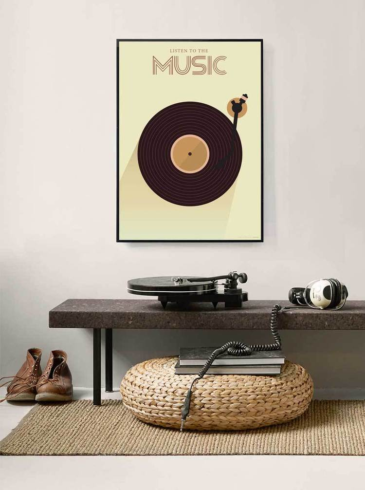 Listen to the Music Poster