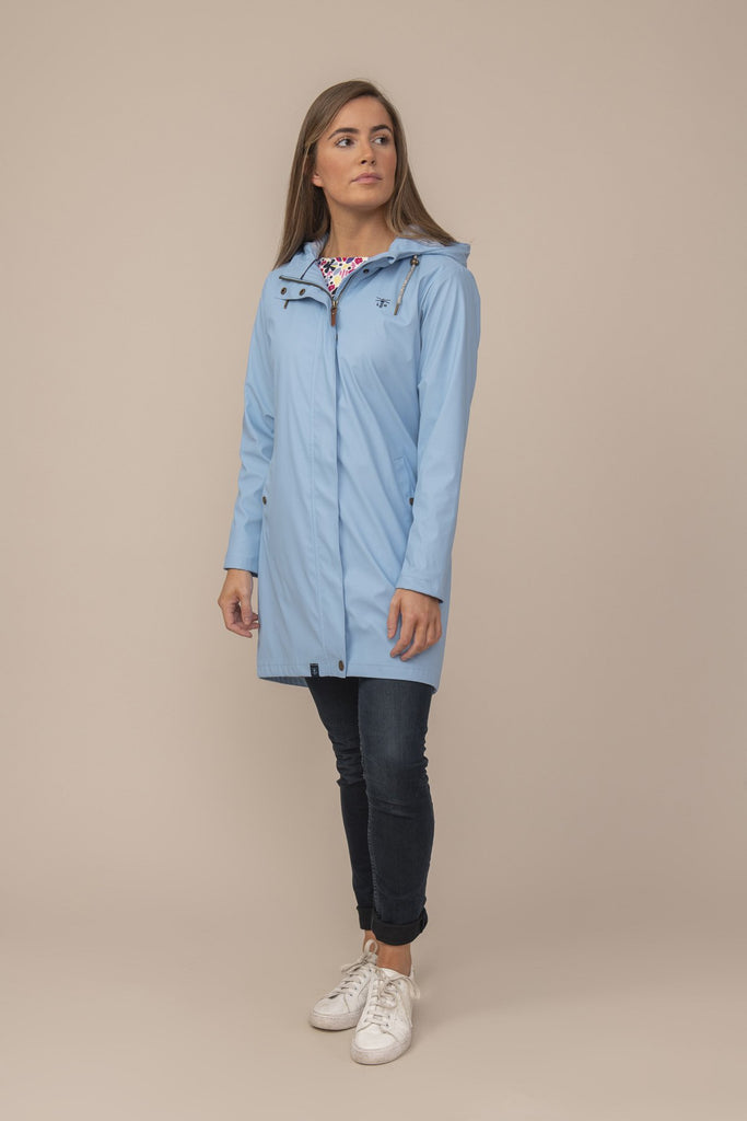 Lighthouse Long Bowline Jacket - Bluebell