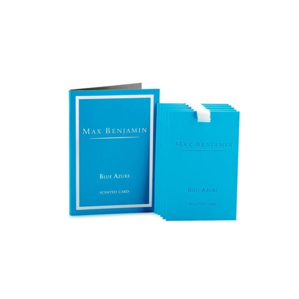 Max Benjamin Blue Azure Luxury Scented Card