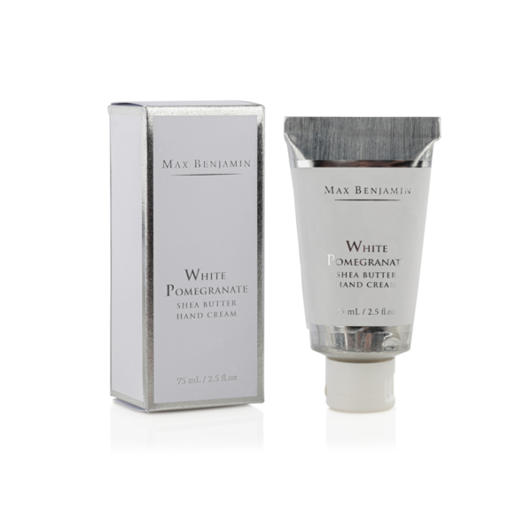 White Pomegranate Water Max Benjamin Hand Cream