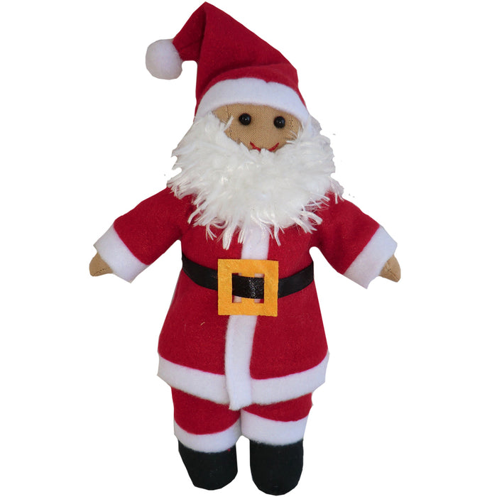 Father Christmas Rag Doll