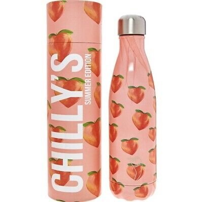 Chilly's Icons Water Bottle - Summer Peach 500ml