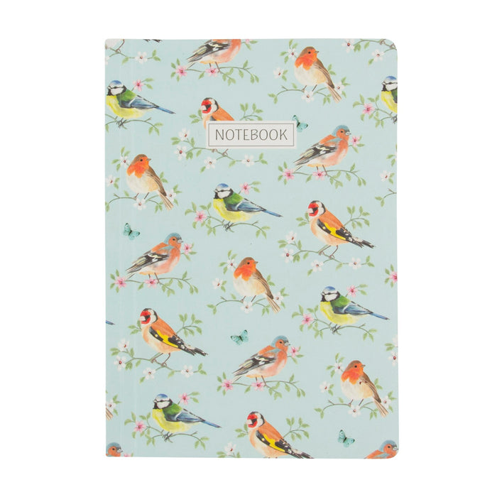 Garden Birds Notebook A5