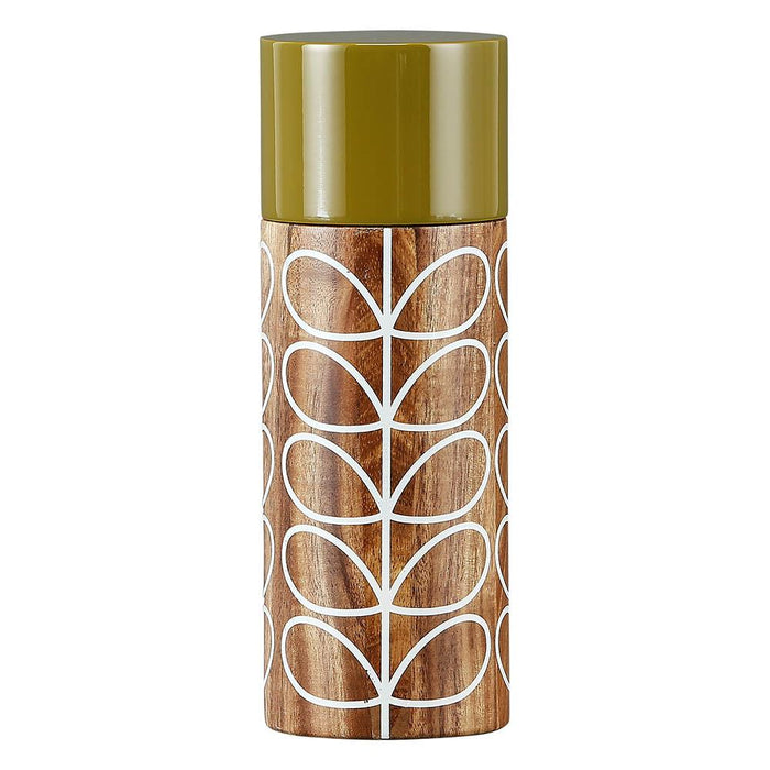 Orla Kiely Cream Solid Stem Salt / Pepper Mill