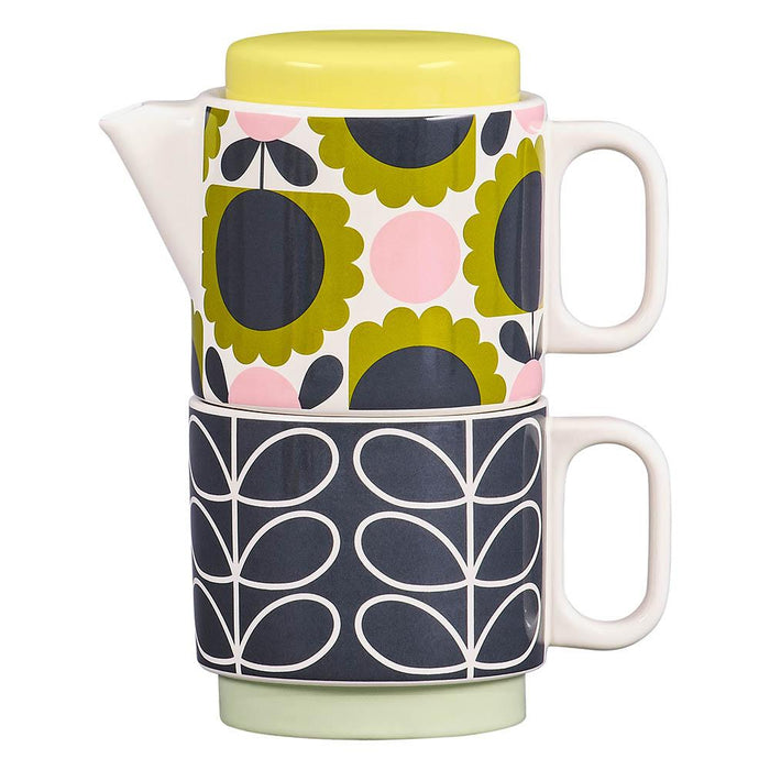 Orla Kiely Scallop Flower Forest Tea for One Set