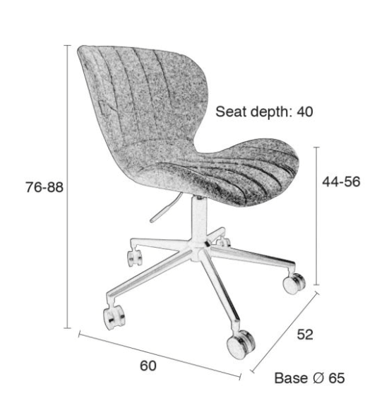 OMG Office Chair - Grey
